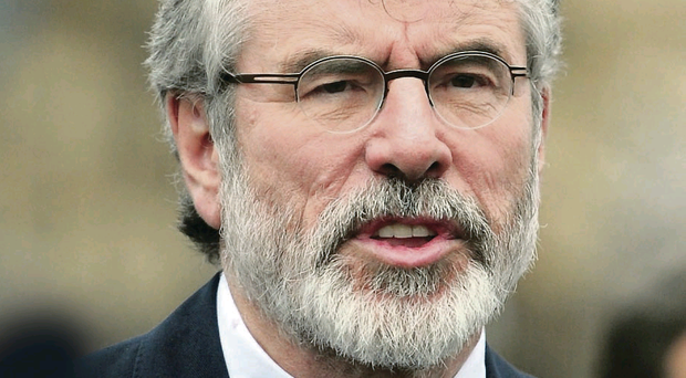 Enda Kenny rejected suggestions that Gerry Adams' arrest had been politically motivated