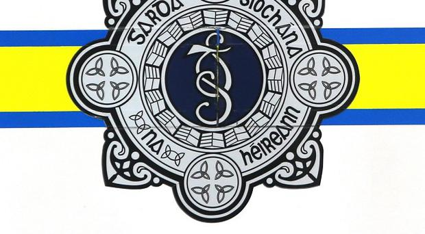 Gardai said the robber was believed to be holding a firearm when he took a cash box