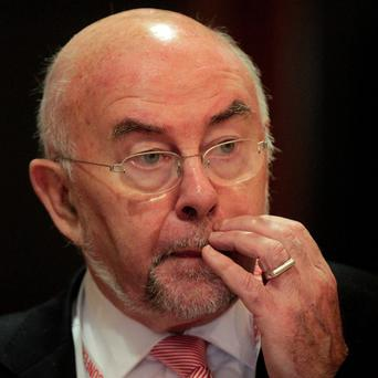 Ruairi Quinn's resignation will take effect when the cabinet reshuffle is announced