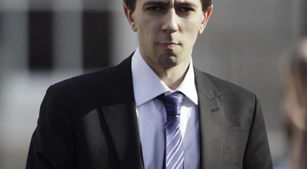 Fine Gael's Simon Harris is one of the youngest members of the Dail