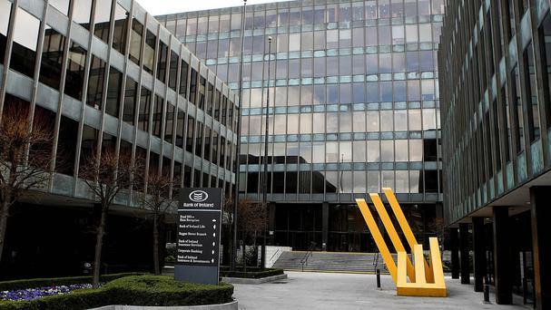Bank of Ireland posted pre-tax profits of 399 million euro for the first half of the year