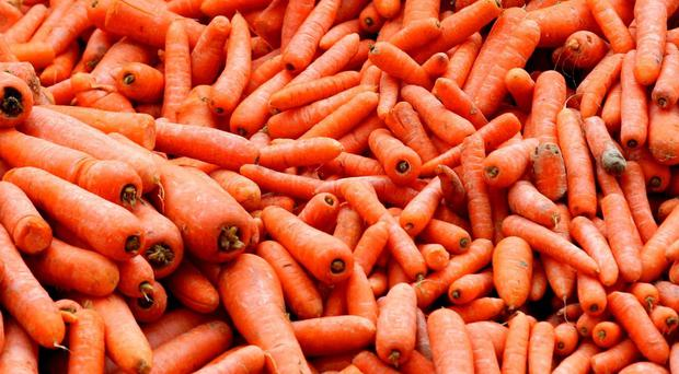 Israeli carrots were taken off the shelves and disposed of