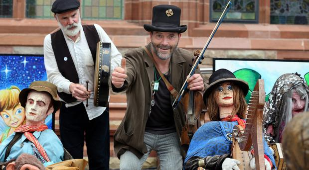 Performers at last year's Fleadh as sponsorship from Shell has been rejected for this year's event