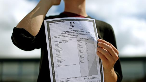 Some 56,990 students sat the Leaving Cert this year