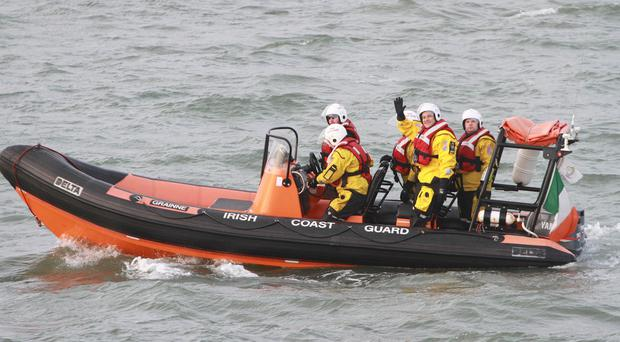 The Irish Coast Guard rescued two people