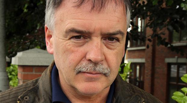 Kieran Megraw, brother of one of the Disappeared, Brendan Megraw