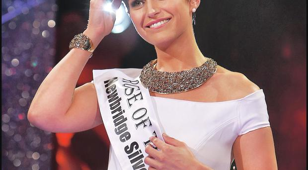 Philadelphia Rose Maria Walsh, who was crowned Rose of Tralee this year