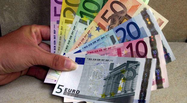 The Central Bank says its note checkers have refused 370 applications for new euro notes this year