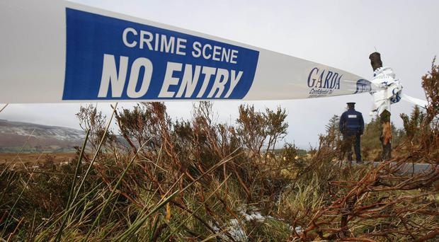 The murder rate in Ireland has risen by a third with 60 people murdered in the 12 months to June