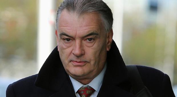 Ian Bailey arrives at the Four Courts in Dublin
