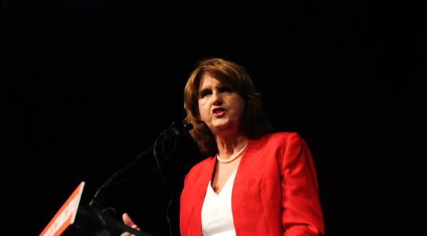 Tanaiste Joan Burton said the water charges were