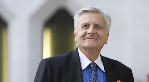 Jean-Claude Trichet warned Ireland crisis funds propping up collapsed banks in 2010 would be withdrawn unless they asked for a rescue package
