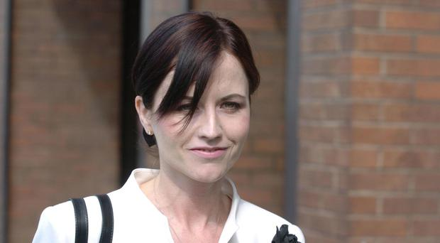 Dolores O'Riordan was on a plane from New York to Shannon