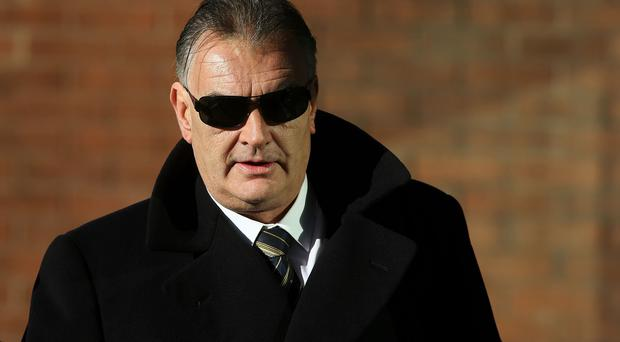 Ian Bailey claimed he was given a black and tan shirt to wear