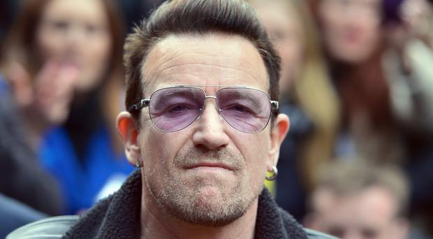 Bono was left with multiple fractures after a cycling accident in New York