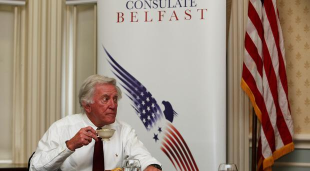Former US senator Gary Hart is returning to try to break the deadlock in Northern Ireland cross-party negotiations