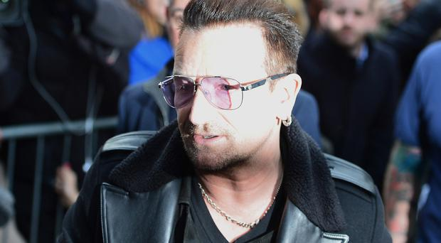 Bono suffered multiple injuries when he crashed his bike in Central Park in November