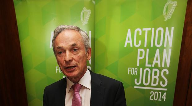 Richard Bruton welcomed the jobs announcement