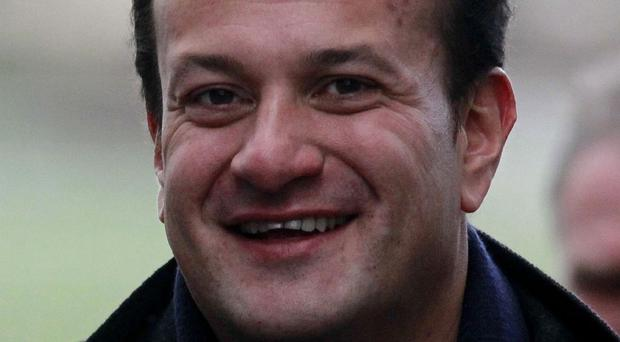 Health minister Leo Varadkar who has publicly come out as gay