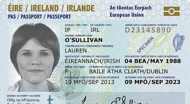 New passport card for eu travel belfasttelegraph the new irish passport card will be accepted for travel within the european union and the ccuart Images
