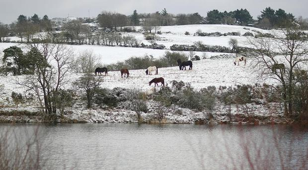 Around 3cm of snow is expected in northern counties
