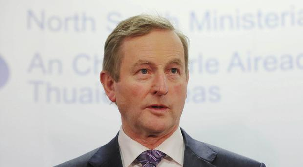Enda Kenny said any attempt by Greece to renegotiate its debts should be done through existing European institutions