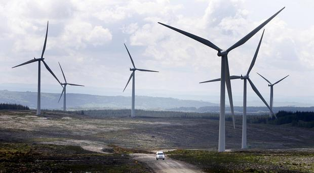 The wind farm was opposed by local residents