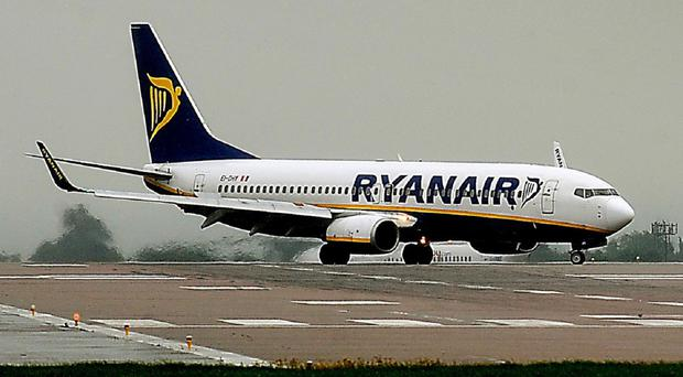 Passengers on the two flights were taken off the planes at Dublin Airport