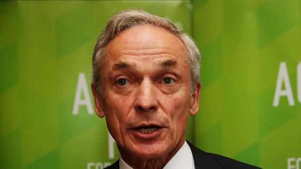 Richard Bruton said the unemployment rate drop was a welcome step on a road to full employment