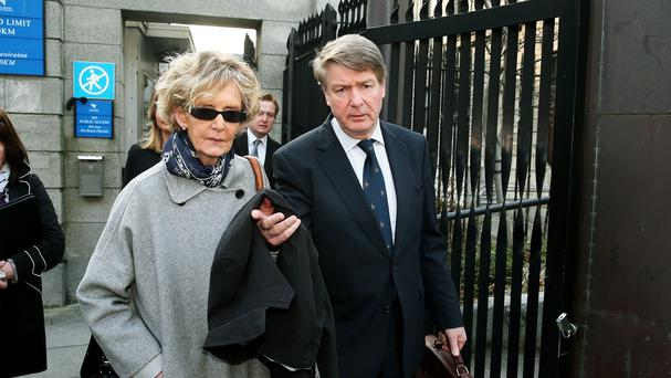 Brian O'Donnell and his wife Mary Patricia have lost their appeal
