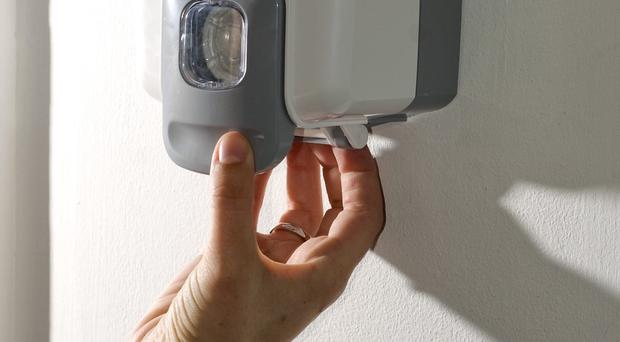The report highlighted the need for improved hand hygiene