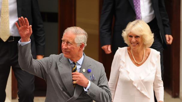 The UK's Prince of Wales and Duchess of Cornwall are to visit next month