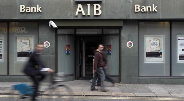 AIB chairman Richard Pym said the bank had been transformed during a return to profitability