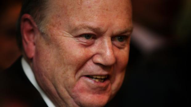 Irish finance minister Michael Noonan claims he was forced him into a U-turn moments before his announcement