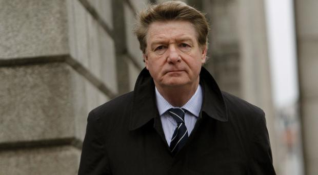 Brian O'Donnell lost his appeal against the repossession of his former mansion