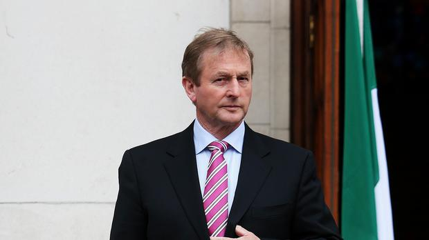 Taoiseach Enda Kenny has attacked banks that were rescued by taxpayers during the crash