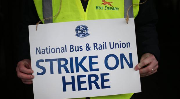 Bus workers have walked out for two days