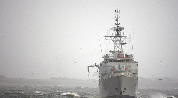 Irish Navy vessel LE Eithne will be sent to the Mediterranean to help deal with the migrant crisis