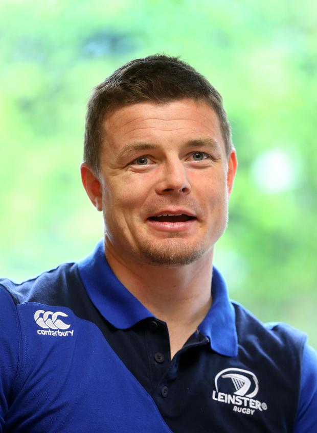 Speaking out: Brian O'Driscoll