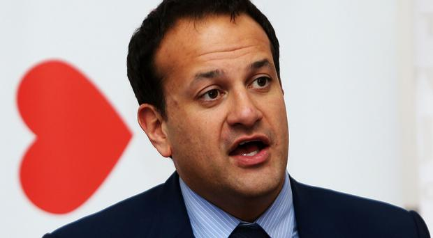 Health Minister Leo Varadkar is meeting grieving parents of those affected by newborn deaths in Portlaoise