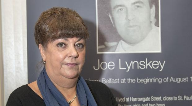 Maria Lynskey, niece of Joe Lynskey, has made a personal appeal for information as the search for his remains continues (Photoline/PA)