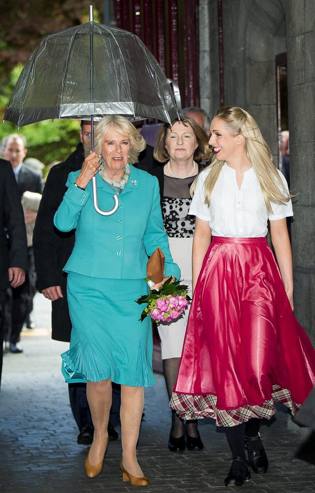 Camilla, Duchess of Cornwall in Galway