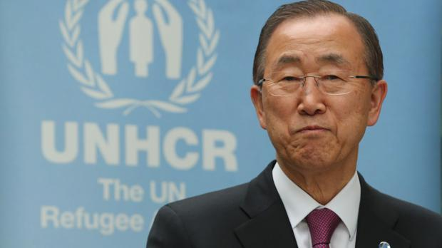 UN secretary-general Ban Ki-moon made a keynote speech in Dublin