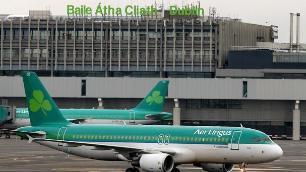 Aer Lingus is the subject of a takeover bid