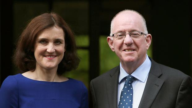 Theresa Villiers and Charlie Flanagan will attend the meeting
