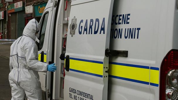 A man in his mid-30s was arrested at the scene and is in custody at a Garda station