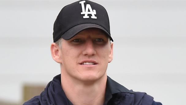 Bayern Munich's Bastian Schweinsteiger is captain of Germany