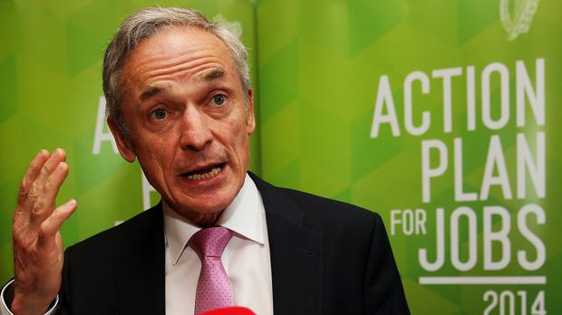 Richard Bruton welcomed the news