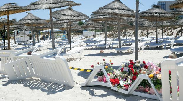 Three Irish people are believed to have died in the Tunisia attack (AP)