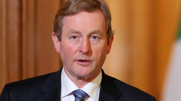 Enda Kenny vowed to work with Britain 'to do all we can to protect the freedom and security we hold dear'